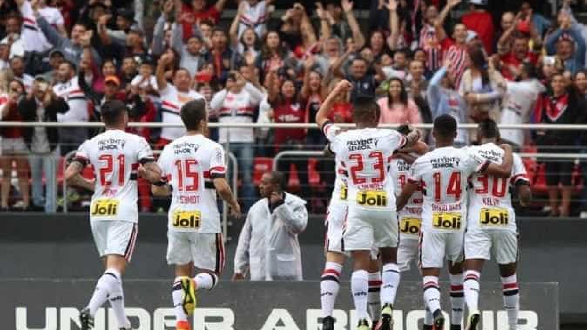 São Paulo ganha da Ponte Preta e engata 2ª vitória