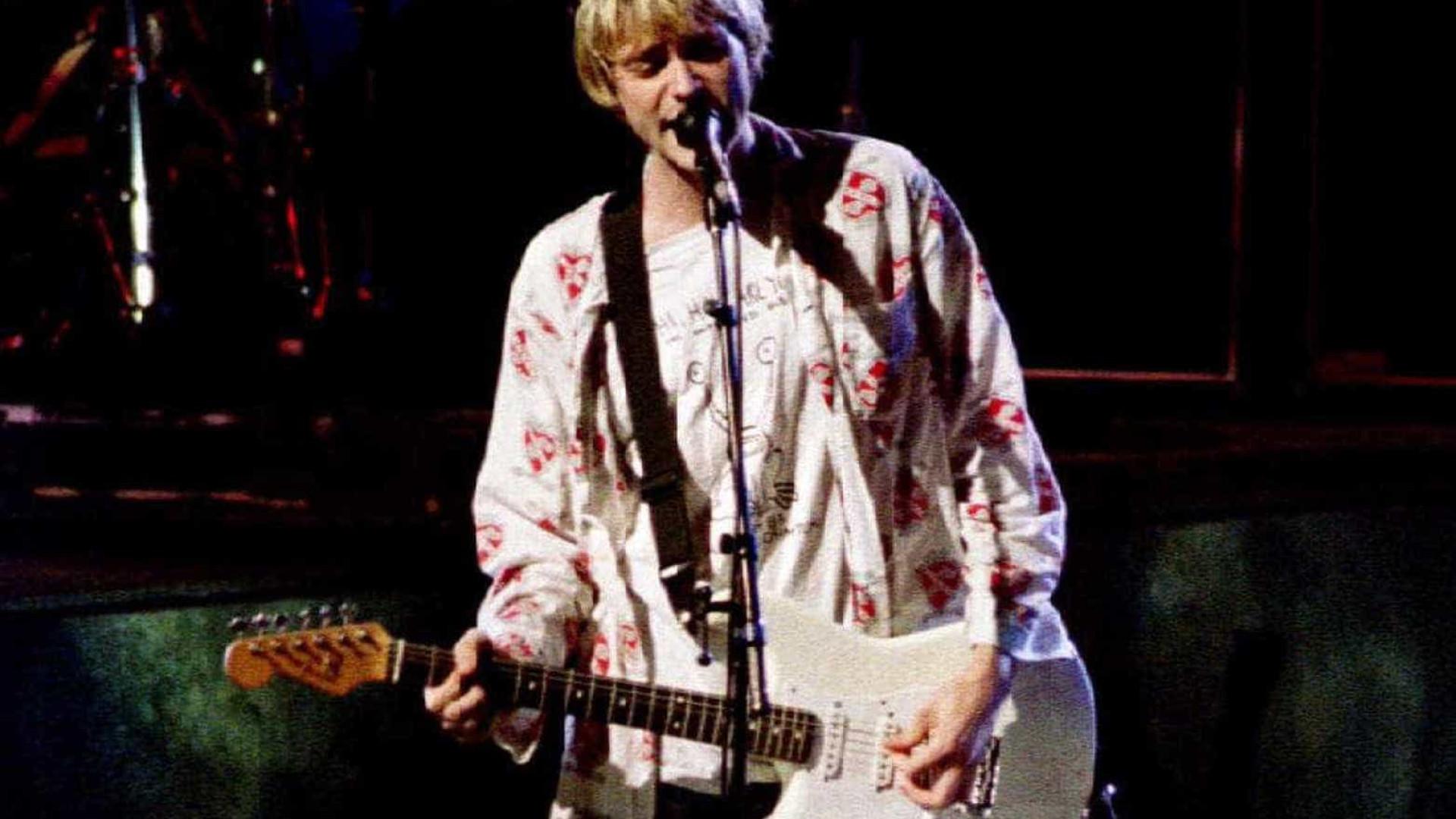 Courtney revela 'inveja' de Kurt Cobain com Eddie Vedder