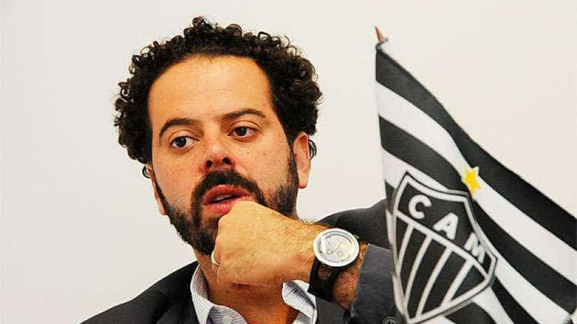 Presidente do Atlético-MG ataca jogadores: 'Acabou a brincadeira'
