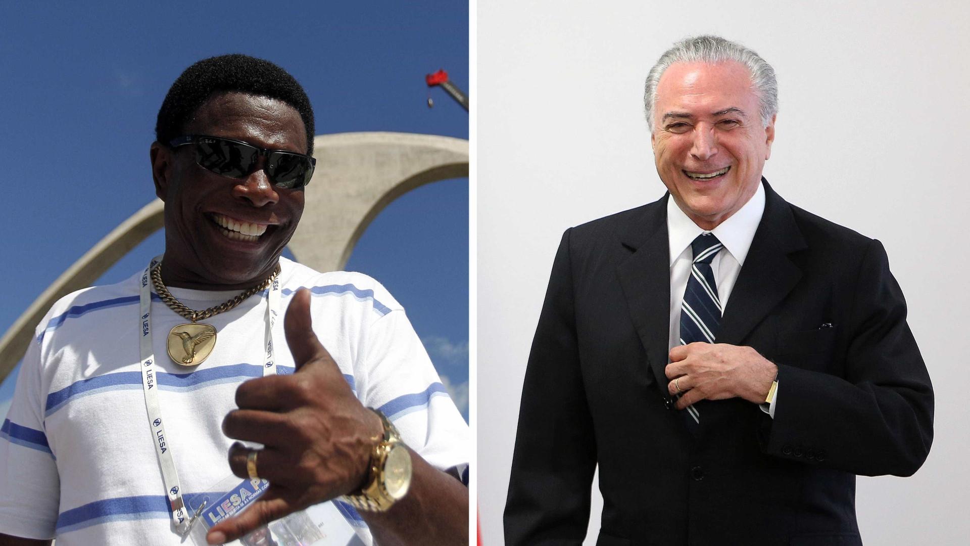 Sem licitação, Temer gasta meio milhão com show de samba