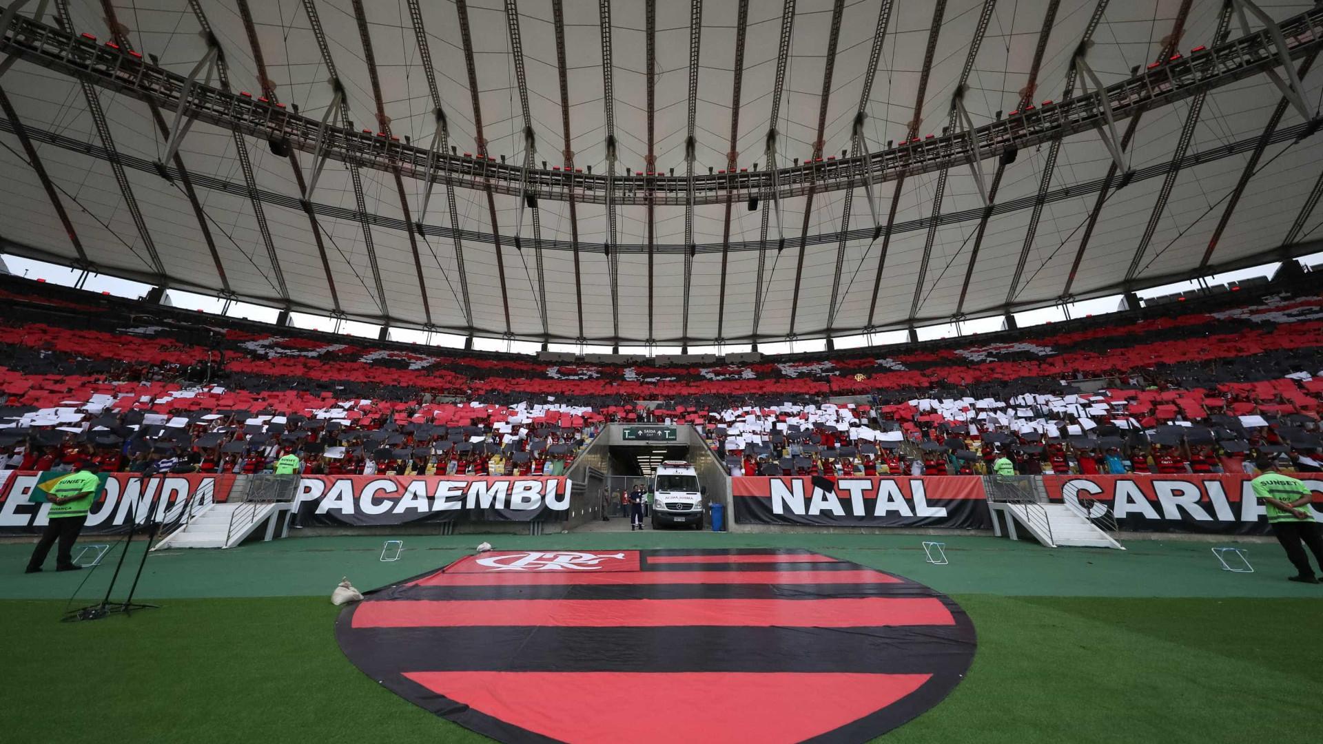 Flamengo lucra em jogo no Maraca e se empolga para administrar estádio
