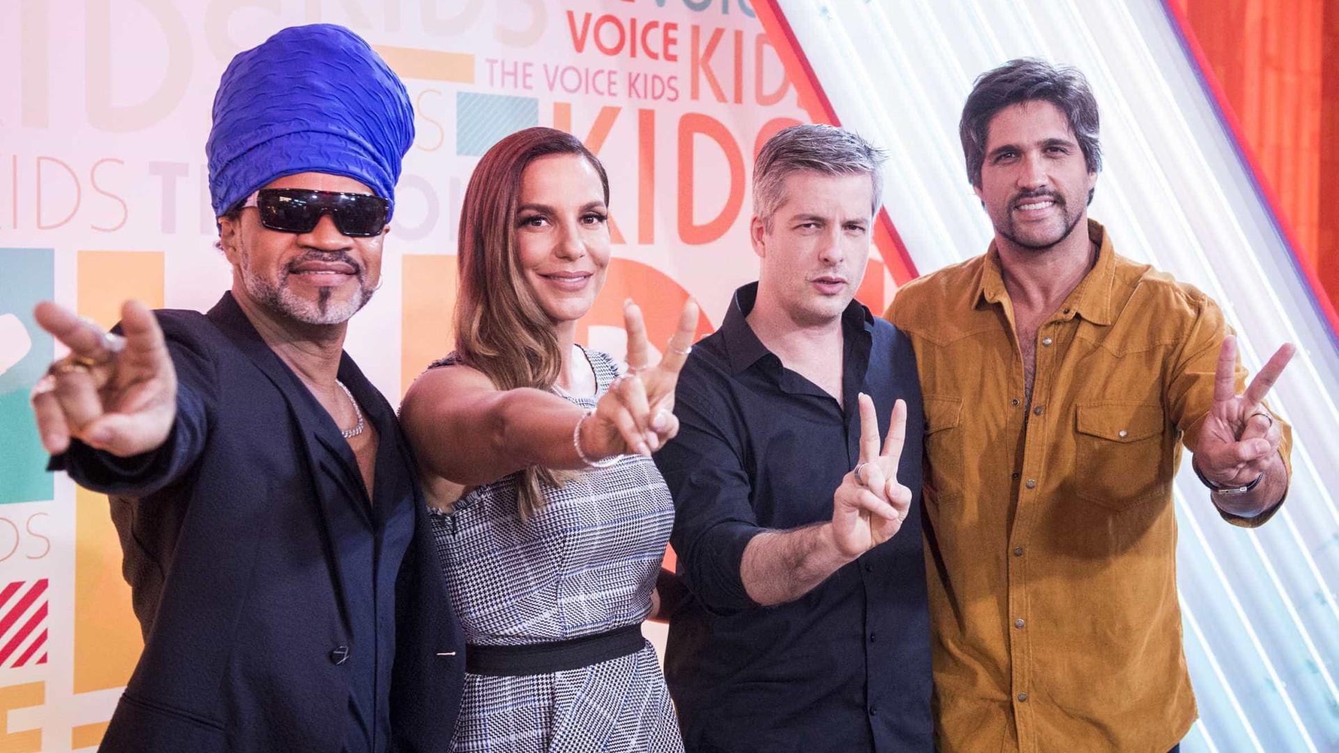 Globo começa a gravar 'The Voice Kids'  e garante novo 'Superstar'