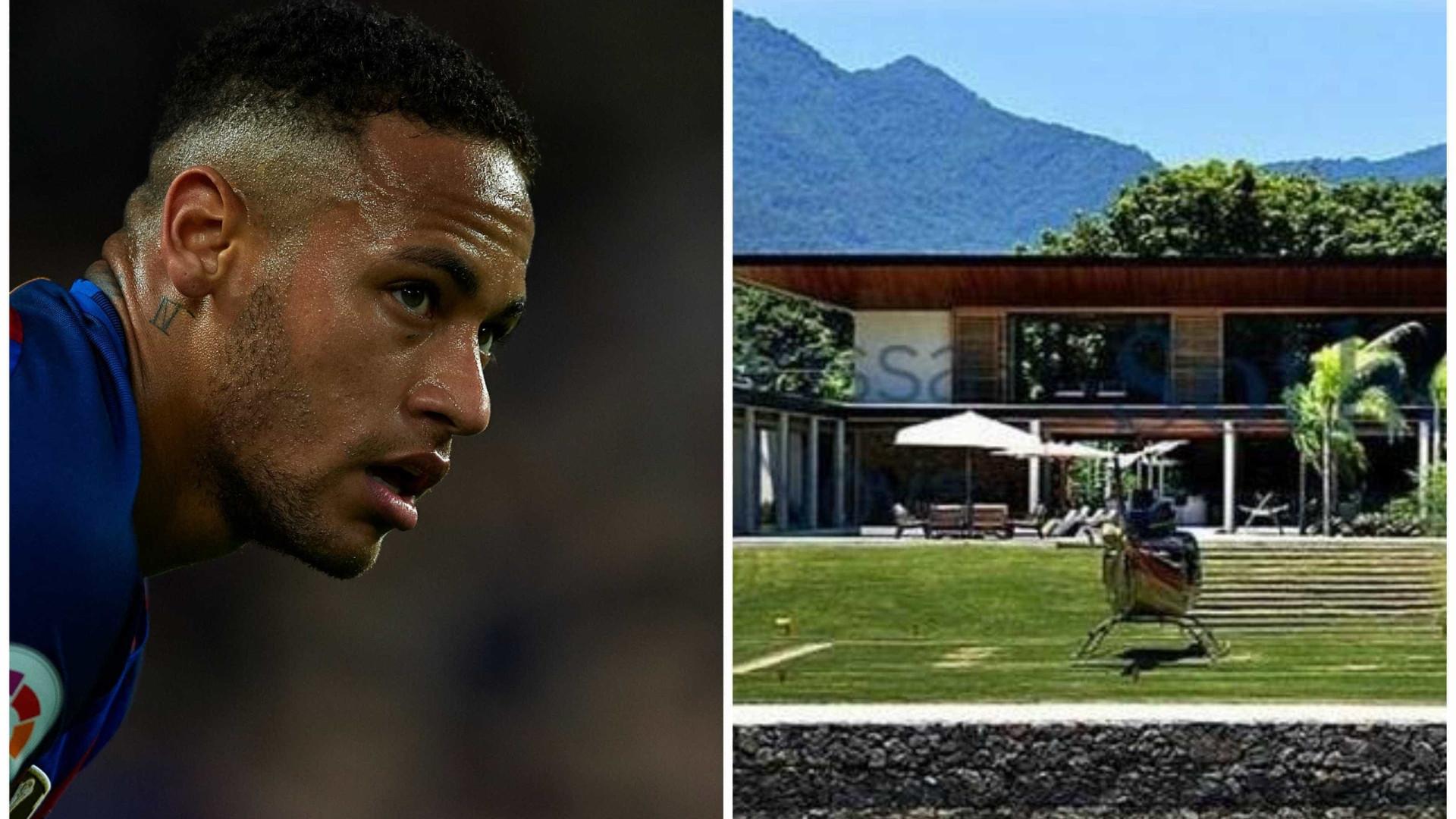 Neymar estreará mansão no Rio com superfesta no Réveillon; fotos