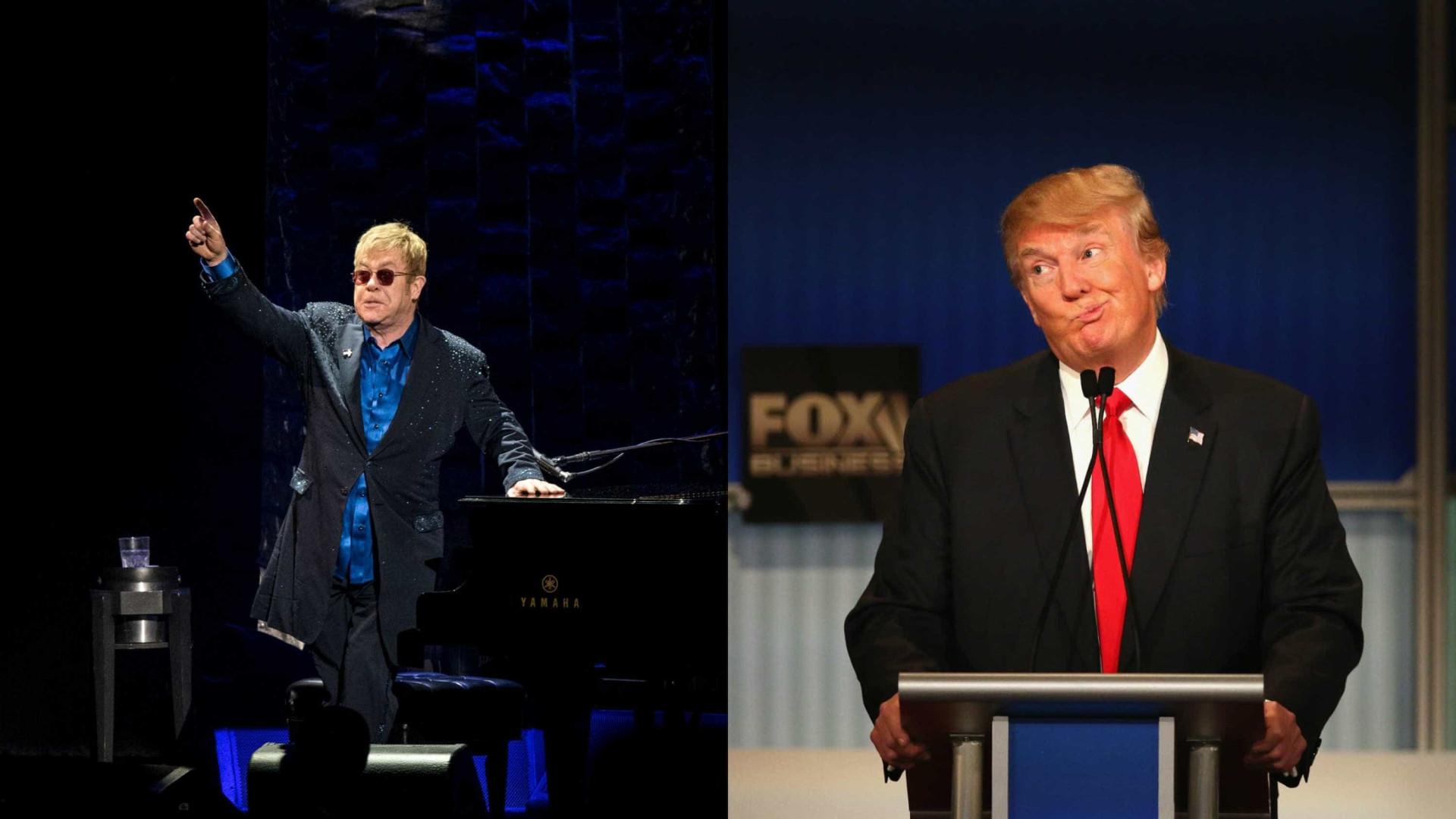 Elton John se recusa a cantar na  posse de Donald Trump