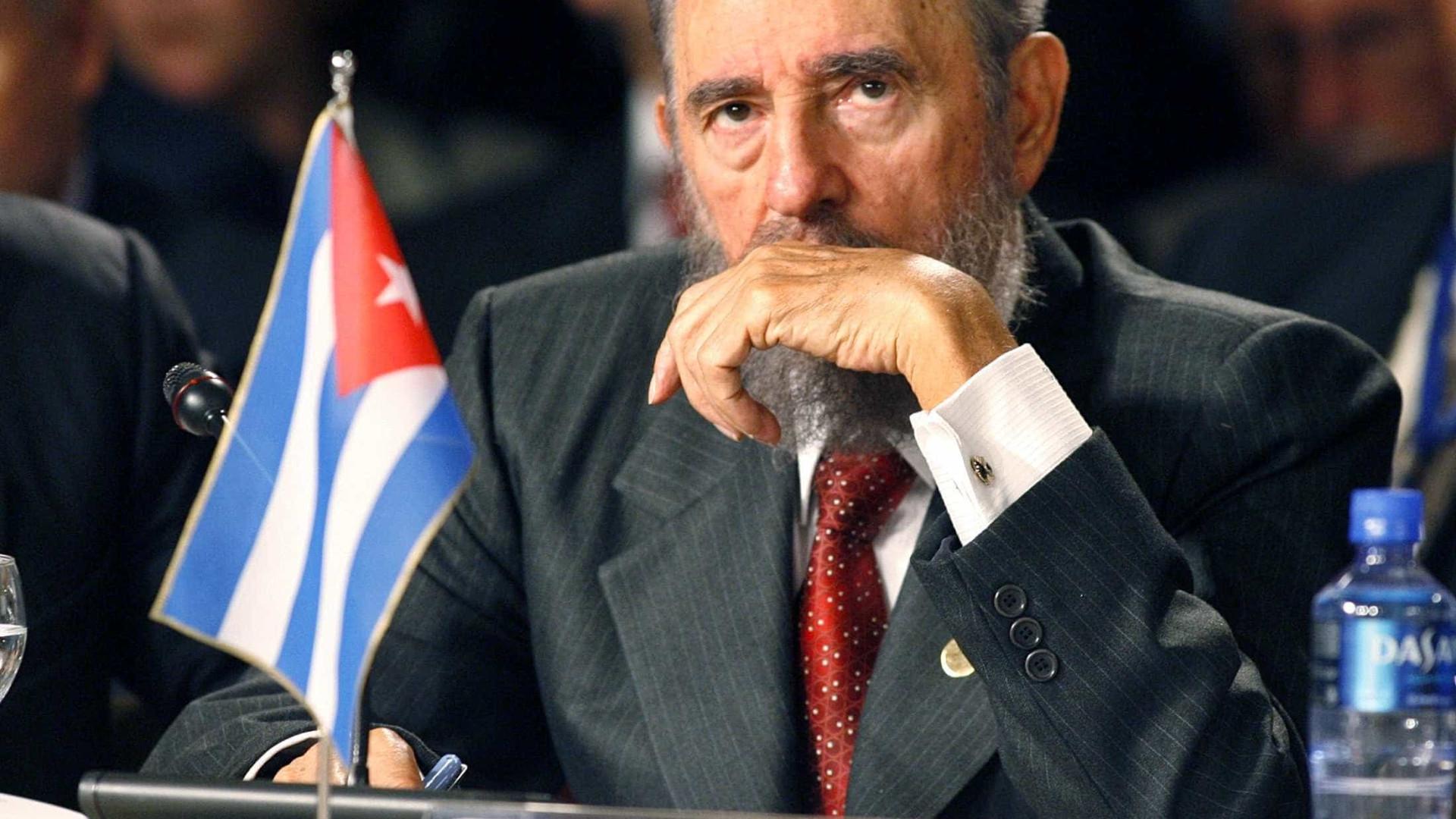 Líderes mundiais lamentam a morte de Fidel Castro