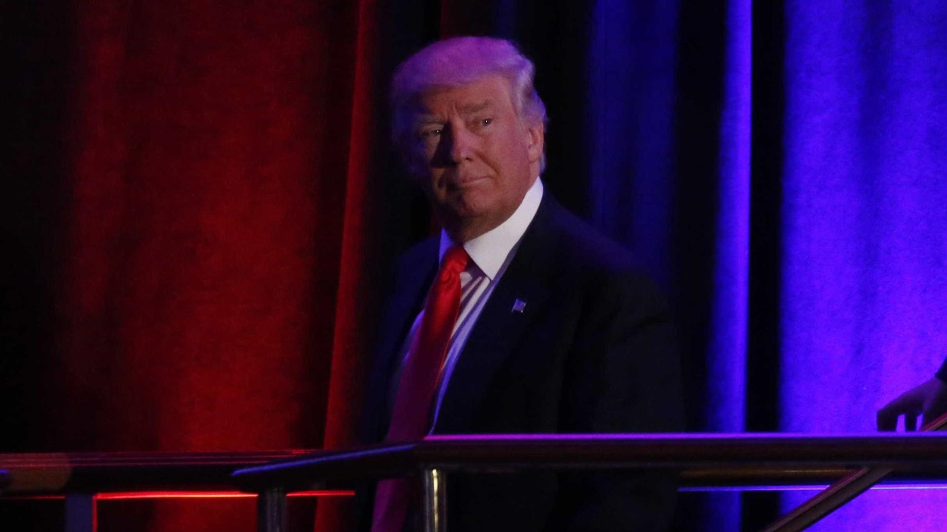 Donald Trump é eleito presidente dos EUA