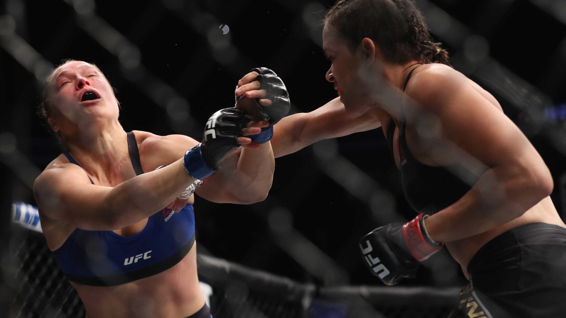 Amanda massacra Ronda Rousey em 48s e faz história no UFC