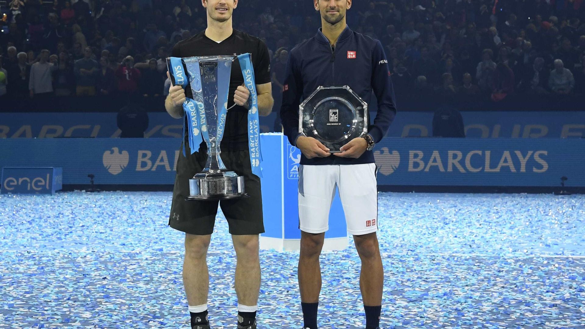 Murray vence Djokovic e conquista as Finais da ATP