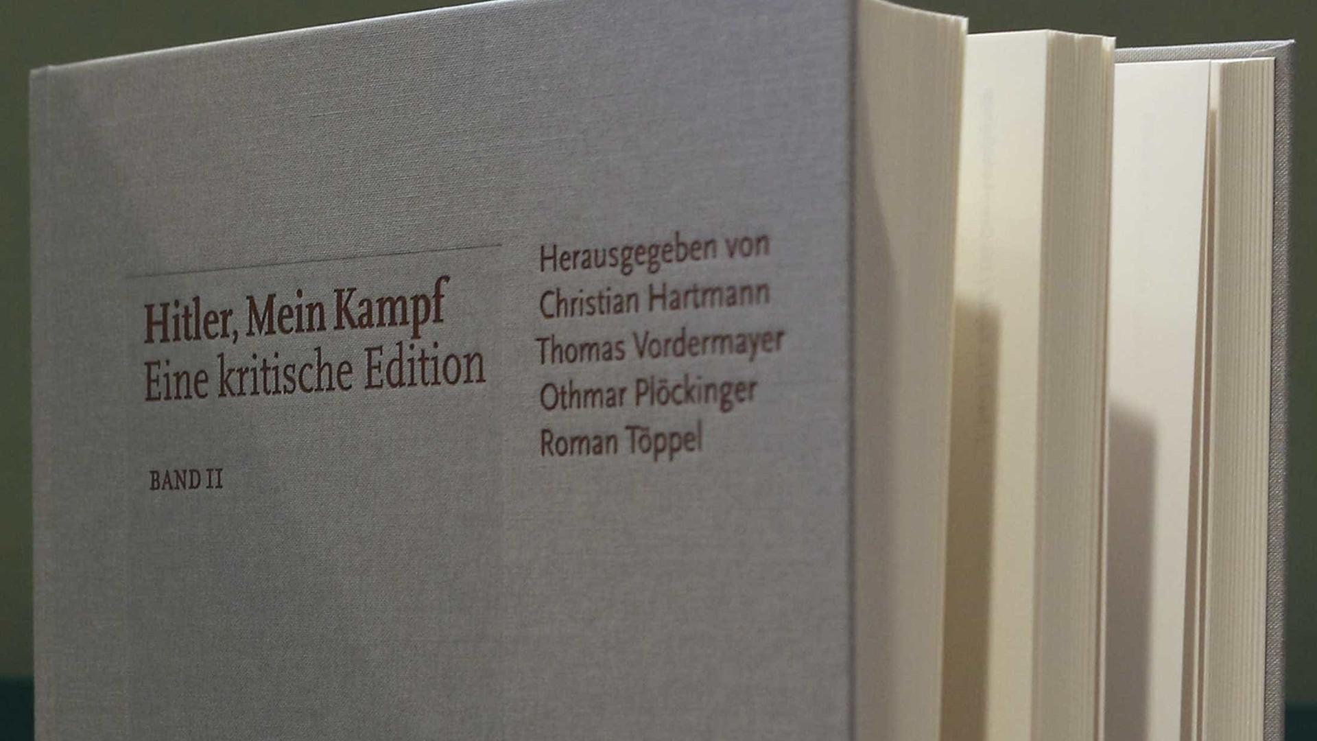 'Minha Luta' vende 85 mil cópias na Alemanha  e terá nova tiragem