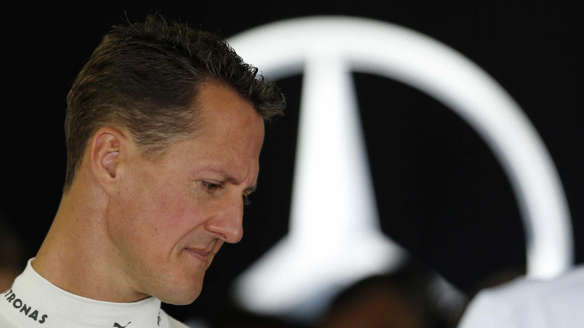 Jornal: cuidados com Schumacher custam R$ 460 mil por semana