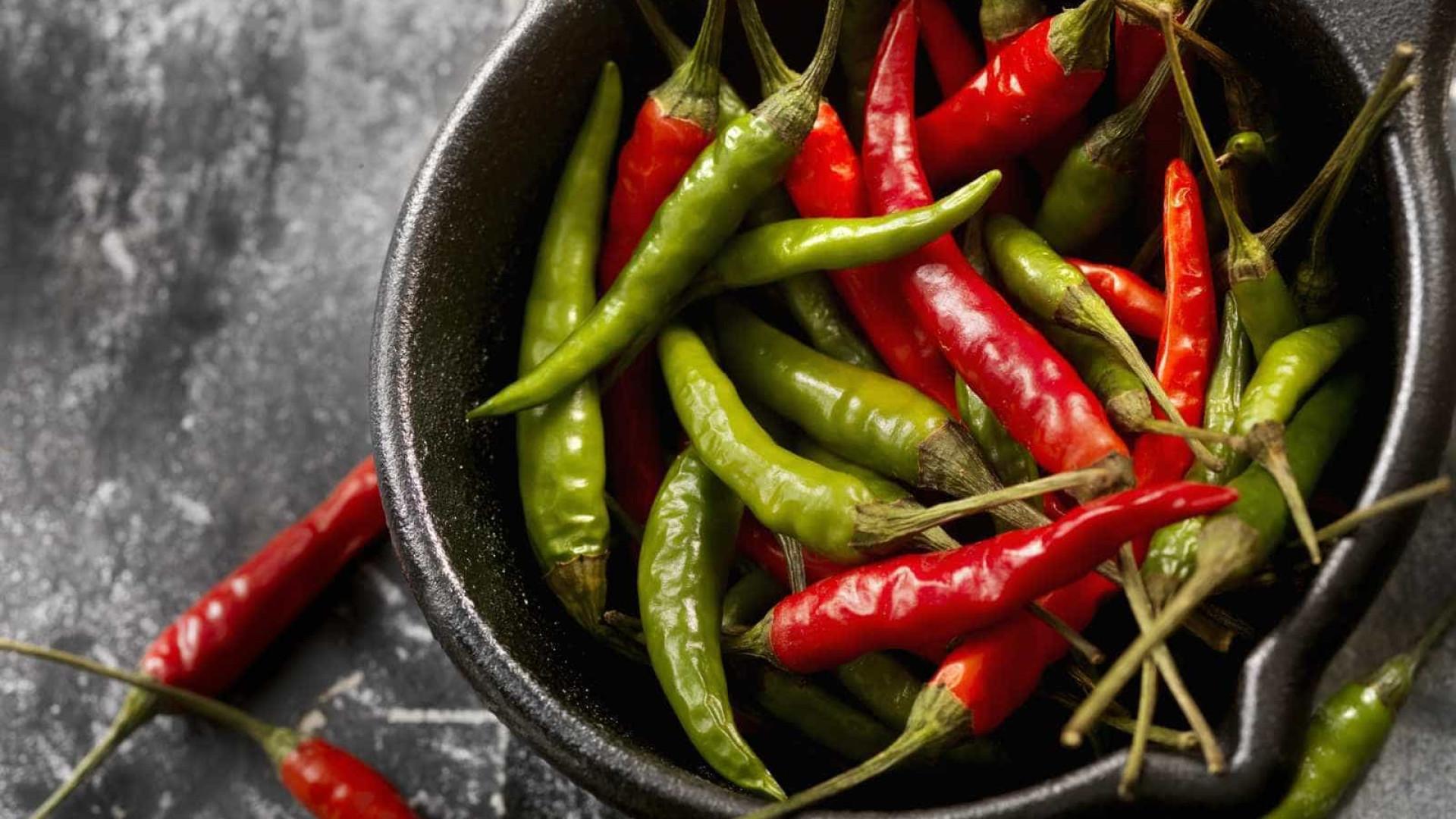 Comer pimenta afasta problemas de saúde; saiba mais
