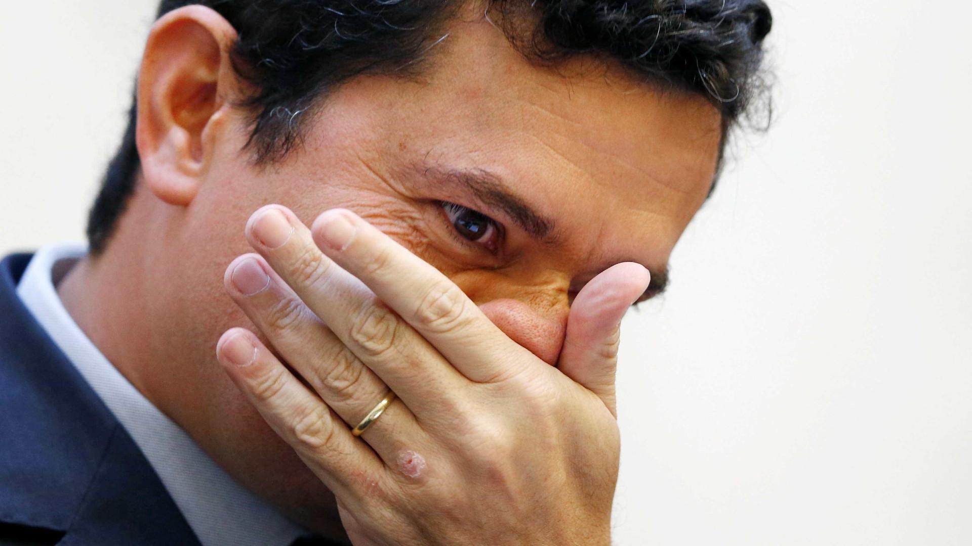 'Estou perplexo', diz Sérgio Moro sobre morte de Teori Zavascki