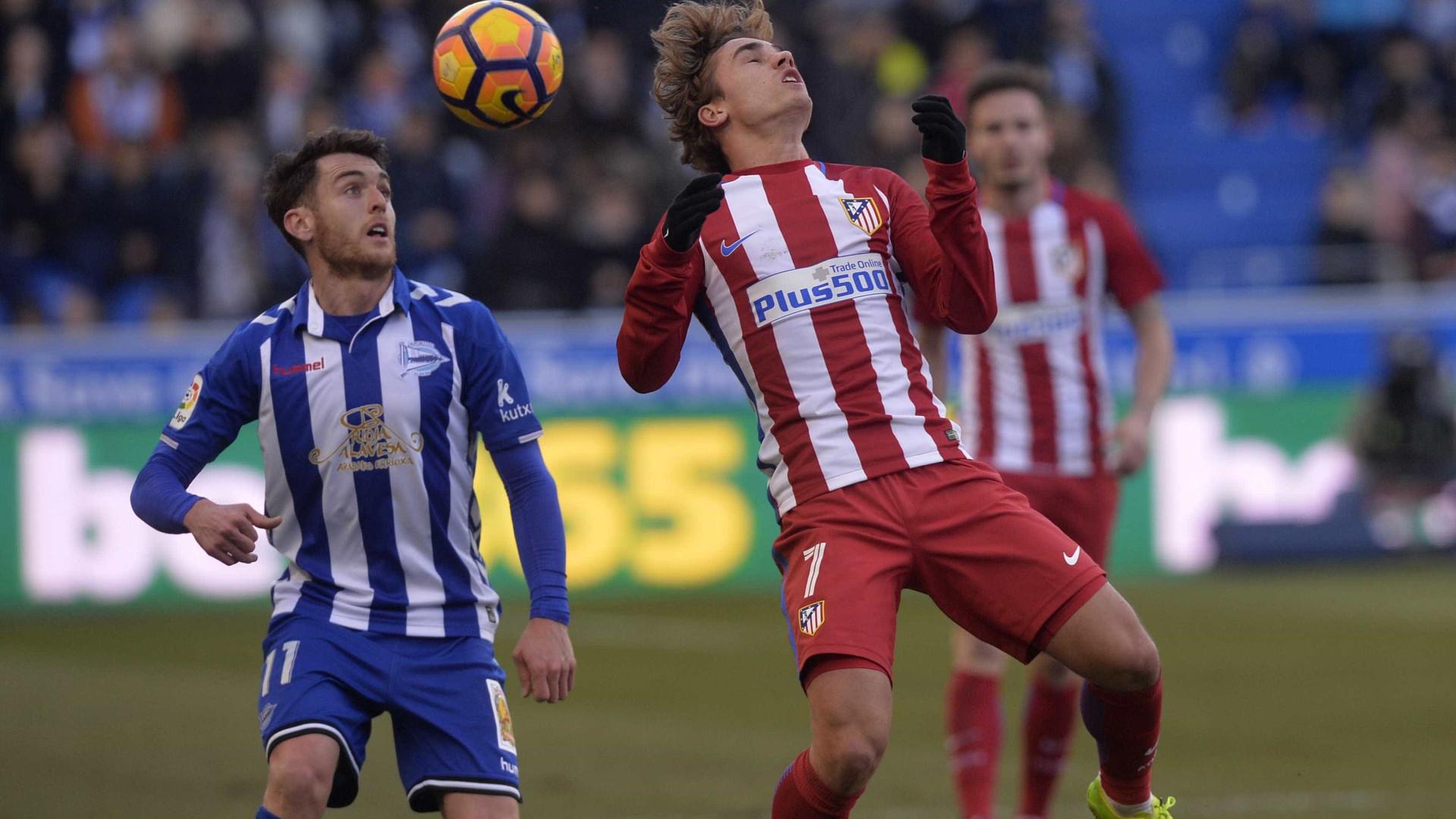 Atlético de Madrid empata e vê quarto lugar  ameaçado no Espanhol