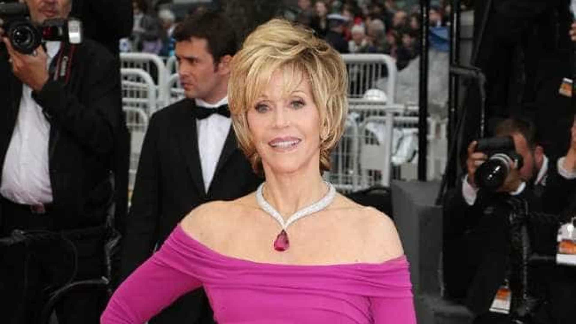 "Jane Fonda revela ter sido estuprada na infância:  ""Me sentia culpada"""