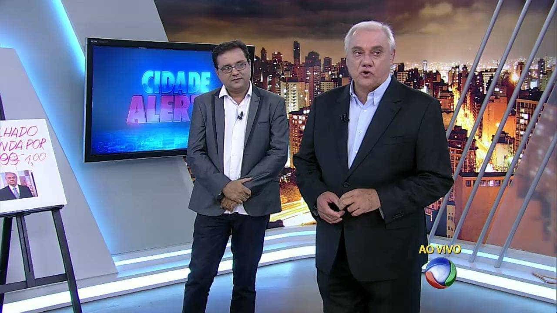 Record quer Marcelo Rezende e Geraldo Luís no mesmo programa