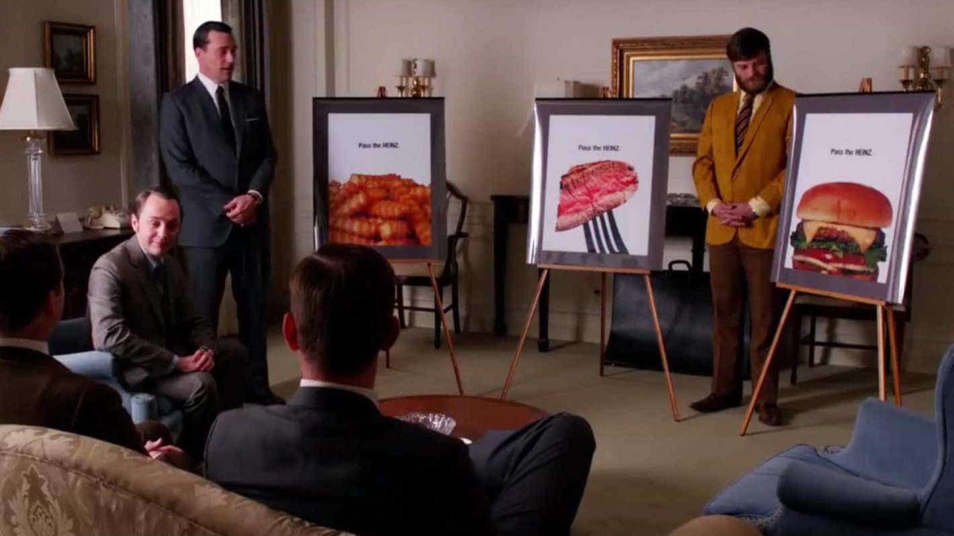 Marca de ketchup lança campanha  criada por Don Draper, de 'Mad Men'