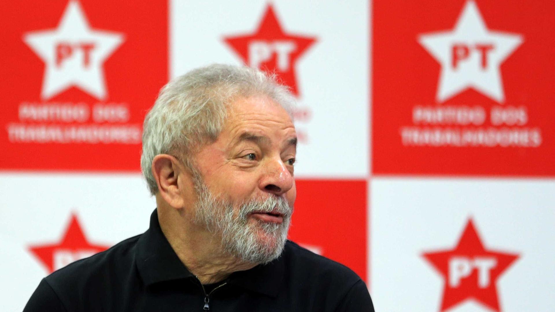 Lula lidera com 30,5% dos votos  eventual disputa em 2018