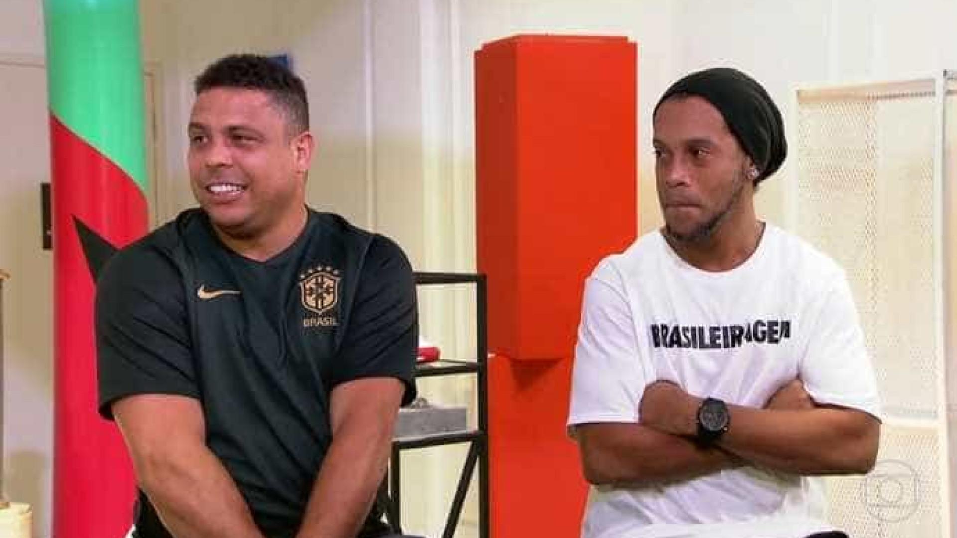 Ronaldo Fenômeno fazia as melhores festas, revela Ronaldinho
