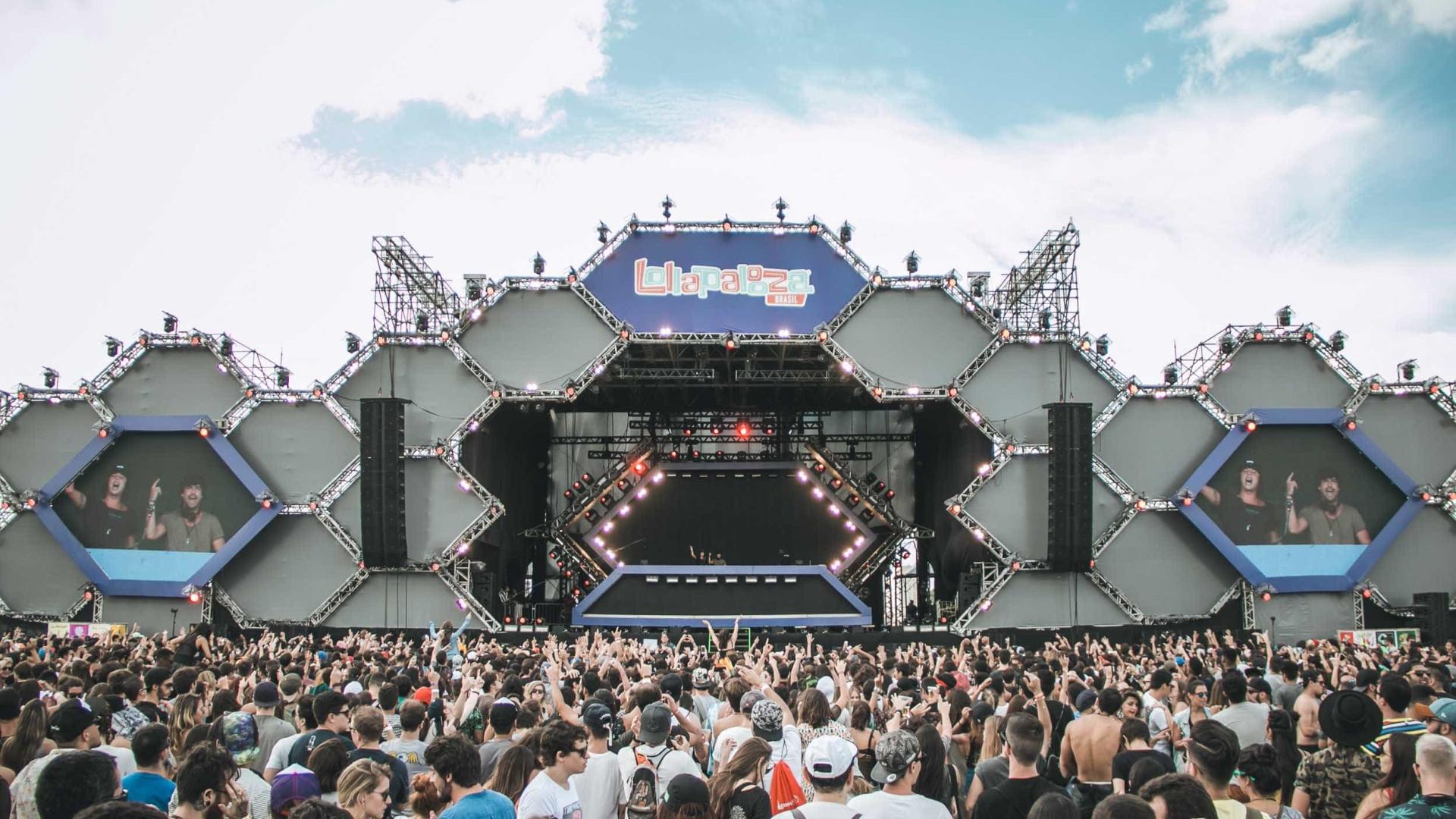 Segundo dia de Lollapalooza tem  mais calor e filas para bebida
