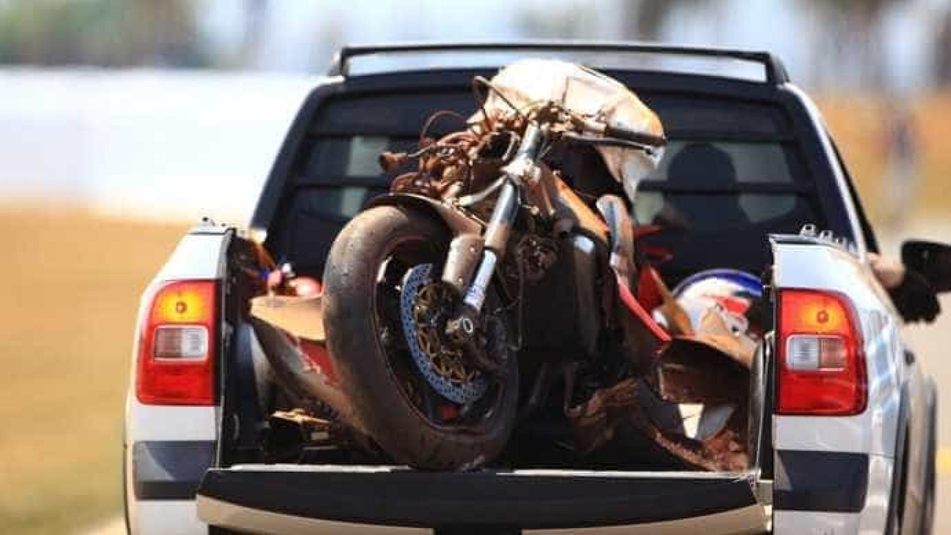 Piloto morre após sofrer acidente em prova do campeonato de Superbike