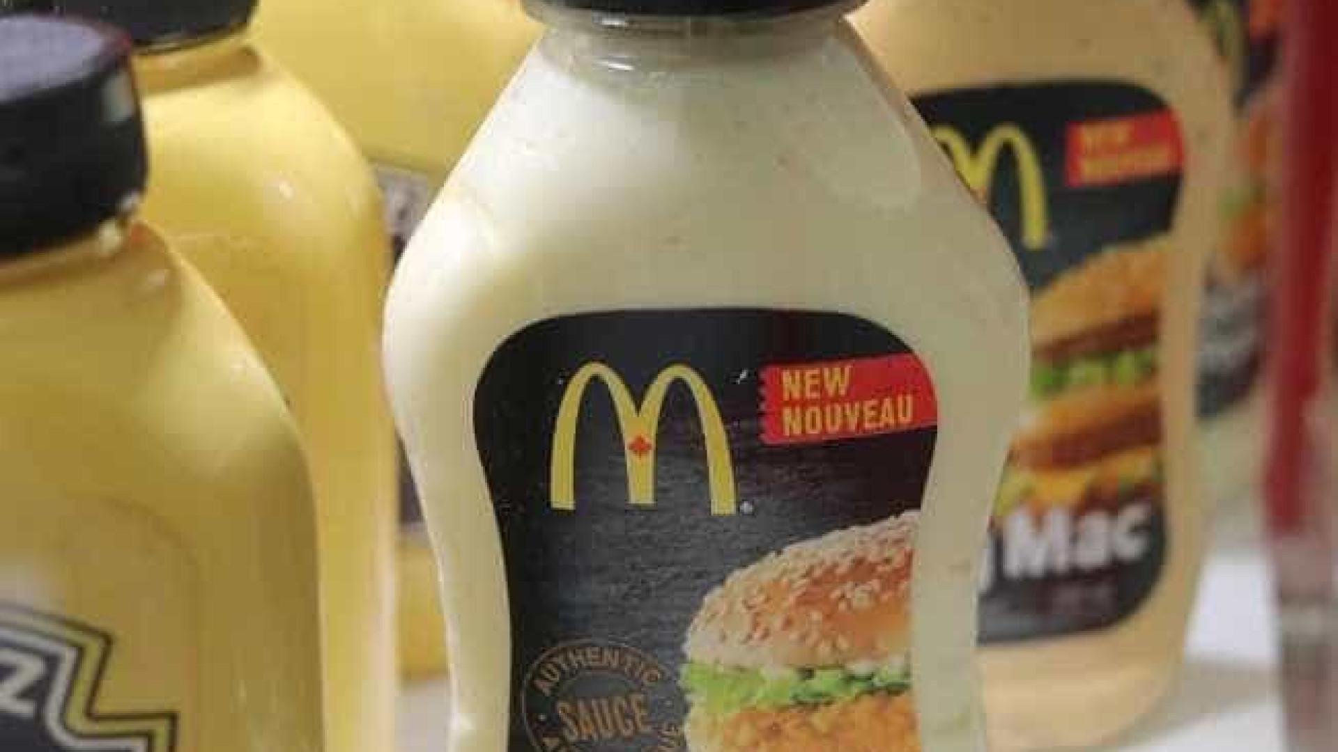 McDonald's vai vender molhos  da rede no supermercado