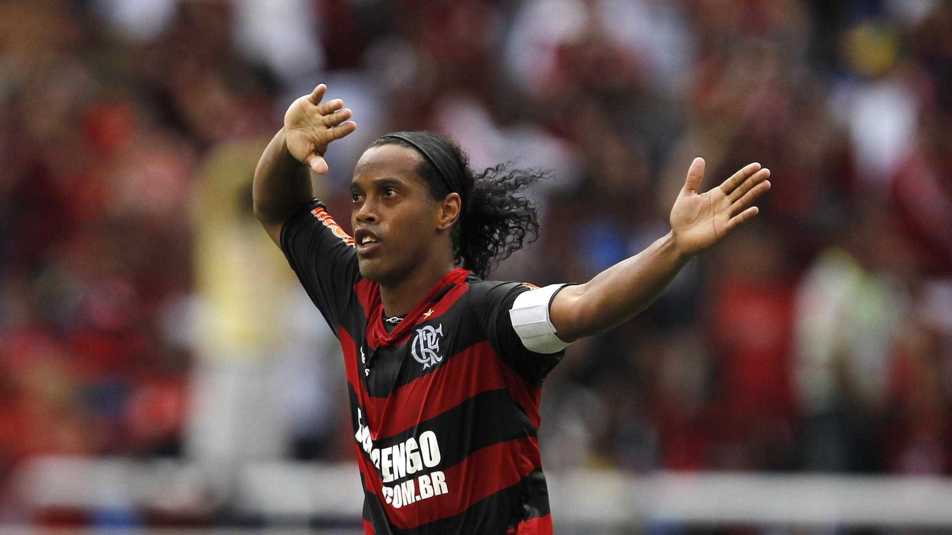 Ronaldinho receberá título de Cidadão Honorário do Rio de Janeiro