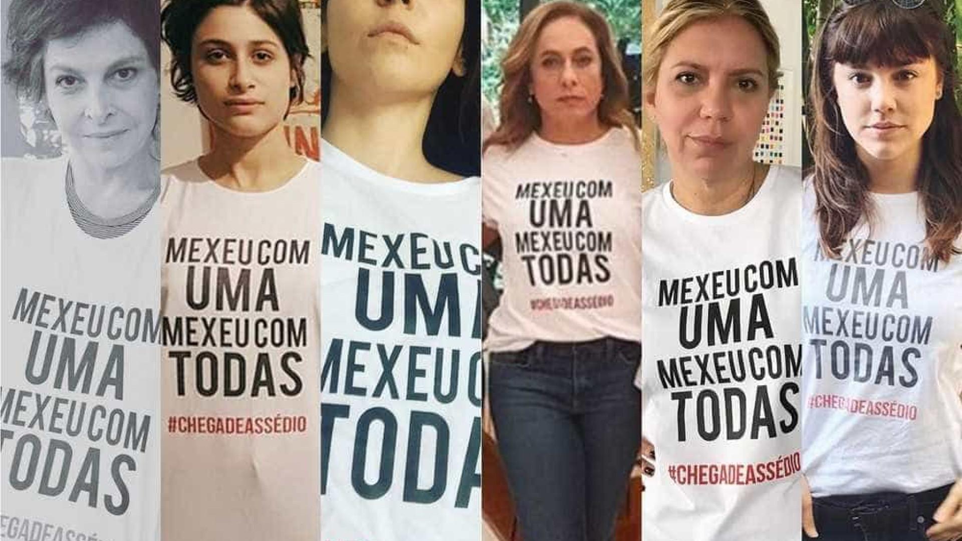 Camisetas usadas em protesto contra ator serão comercializadas no RJ