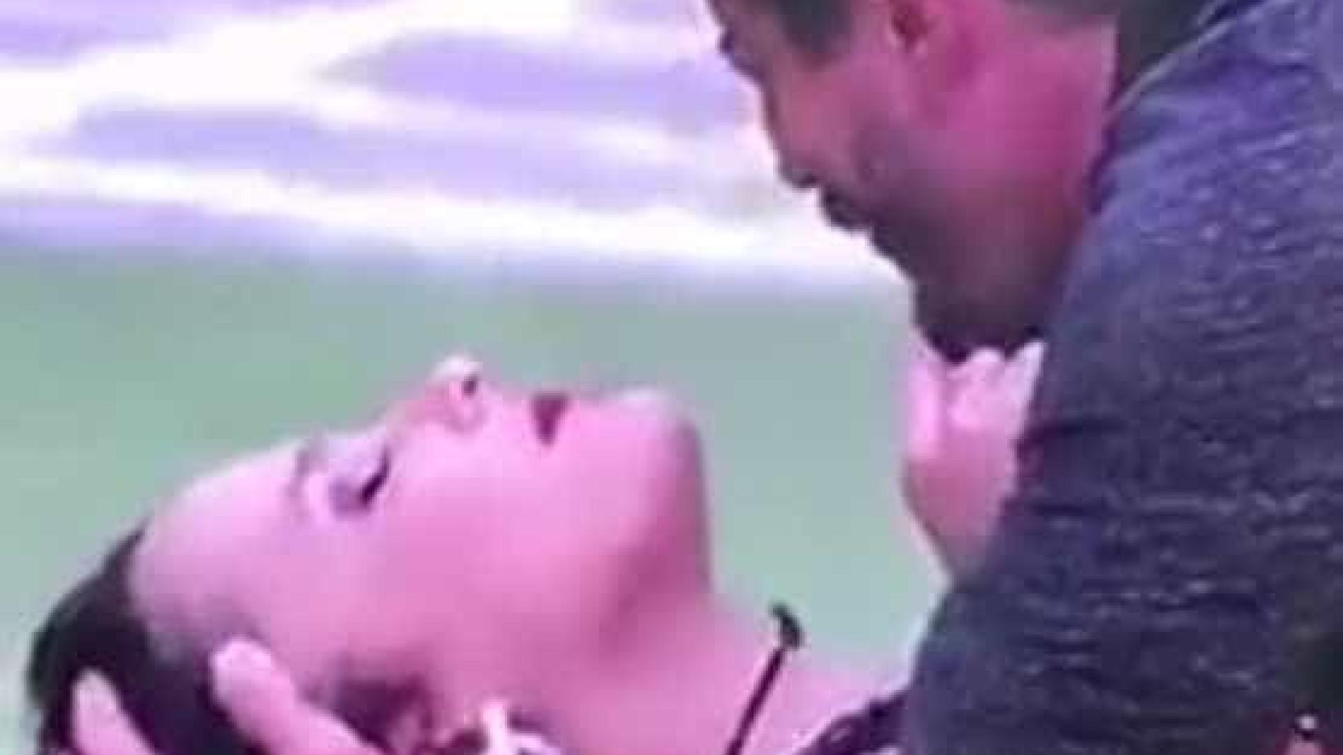 Público se revolta com vídeo de Marcos batendo cabeça de Emilly no chão