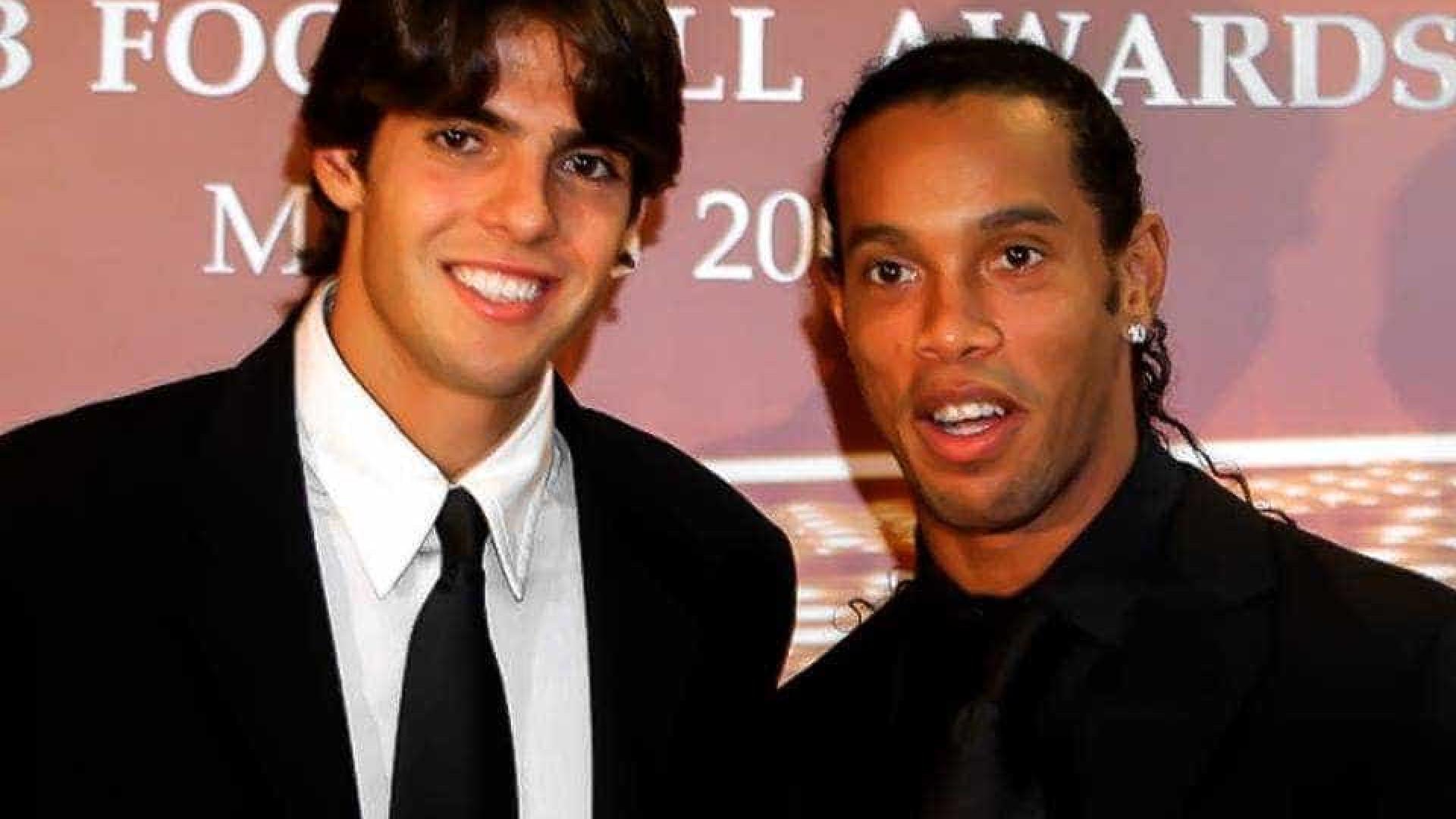Ronaldinho Gaúcho manda recado para Kaká: 'Meu parceiro'