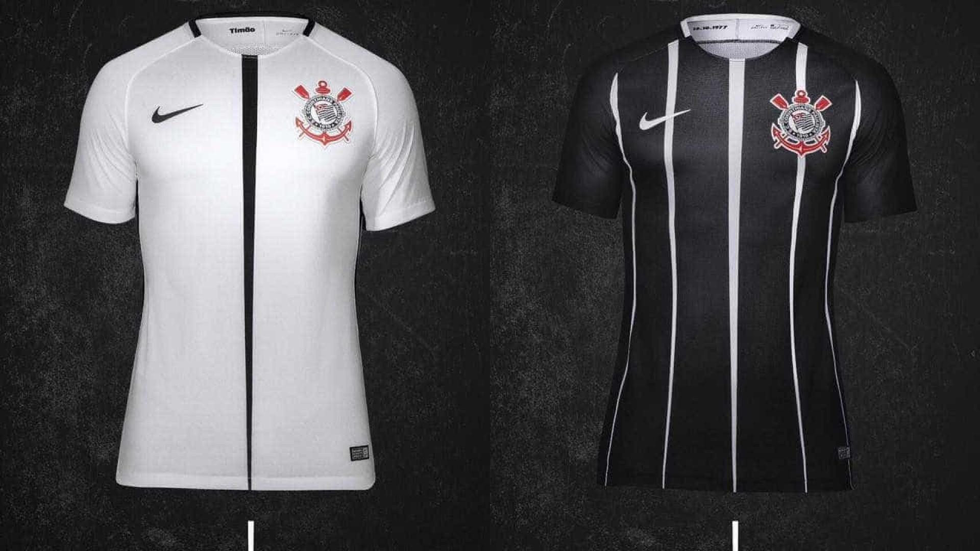 Corinthians lança novos uniformes, inspirados em São Jorge; fotos