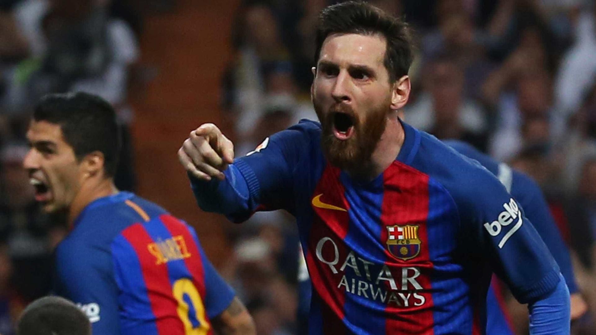 Messi chega a marca de 500 gols com a camisa do Barcelona
