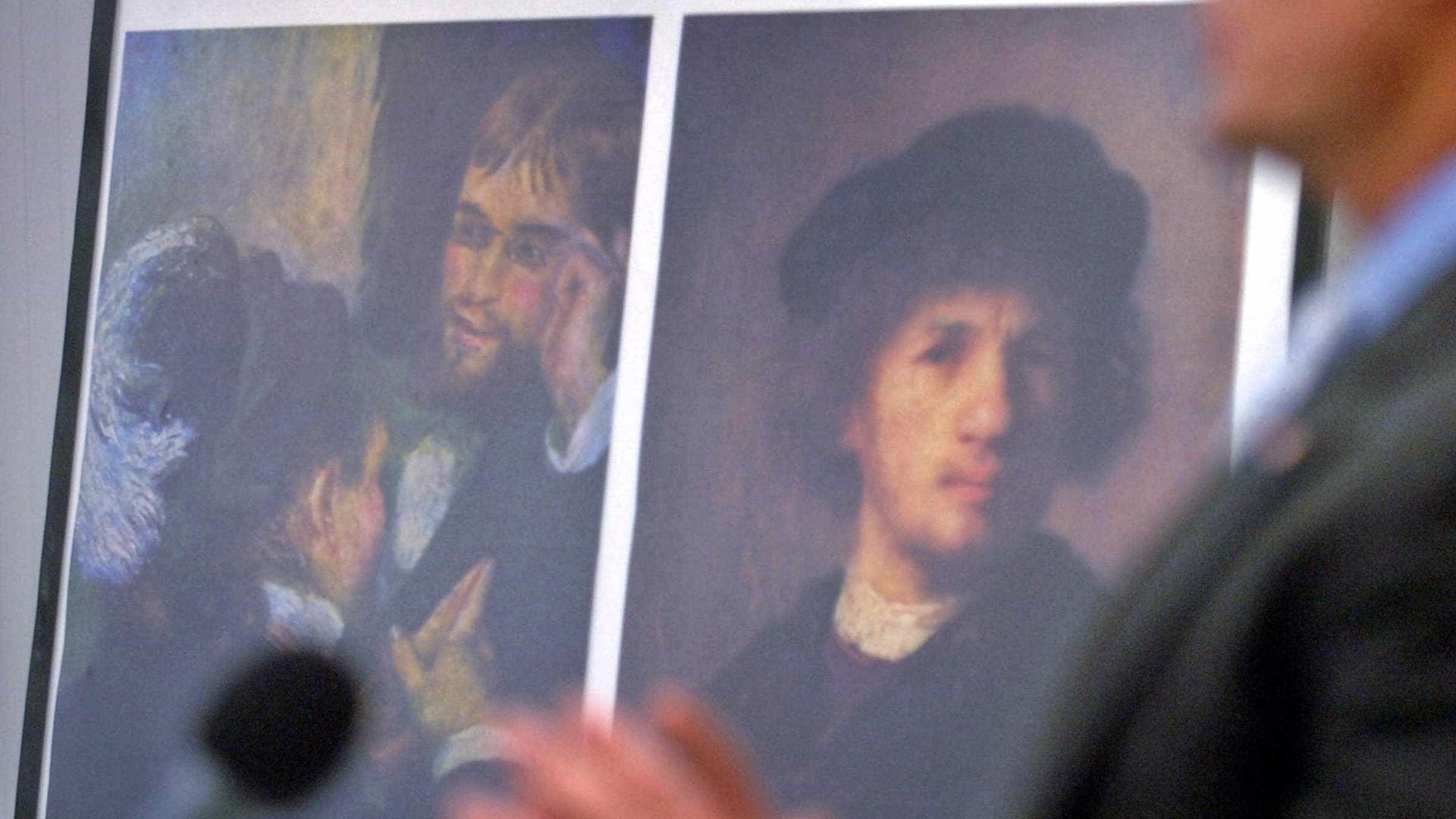 Ladrões furtam 'Renoir' e 'Rembrandt'  de 27 milhões de euros
