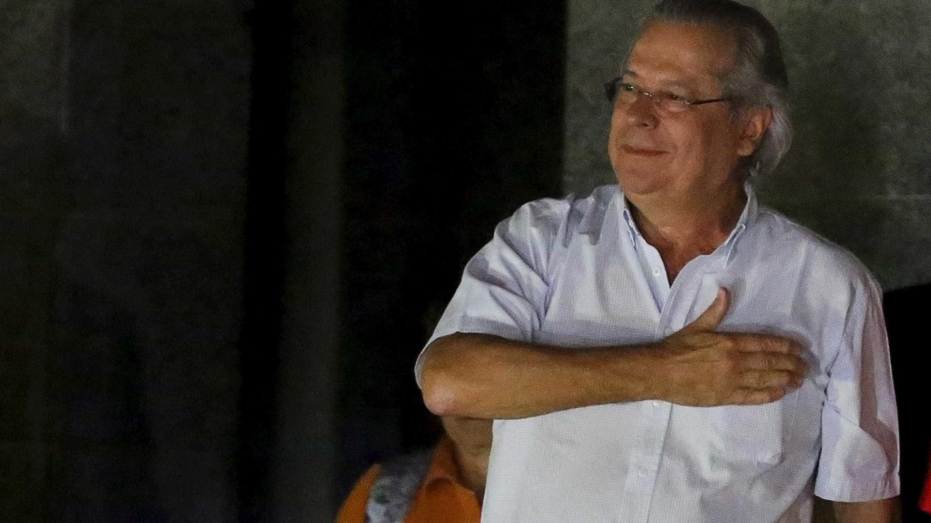 STF liberta ex-ministro José Dirceu,  preso há 2 anos pela Lava Jato