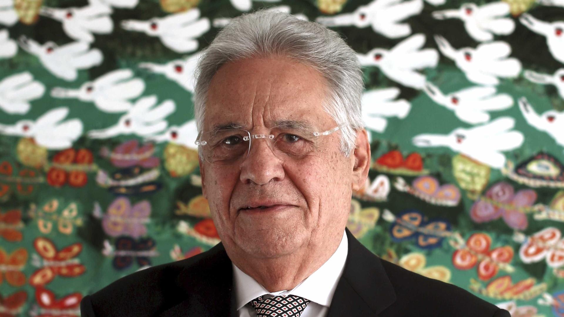 """""""Bolsonaro vai ter um limite, eu espero"""", diz Fernando Henrique"""