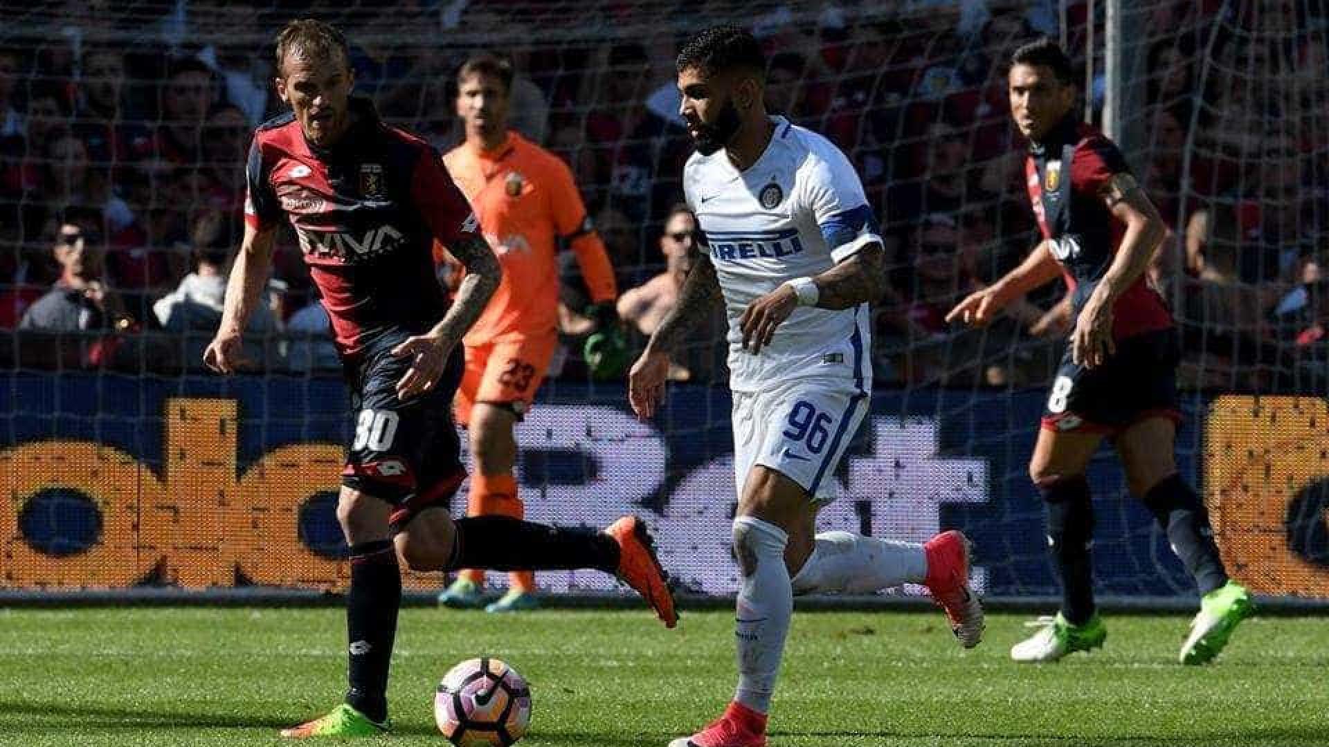 Gabigol joga mas não evita derrota da Inter para o Genoa