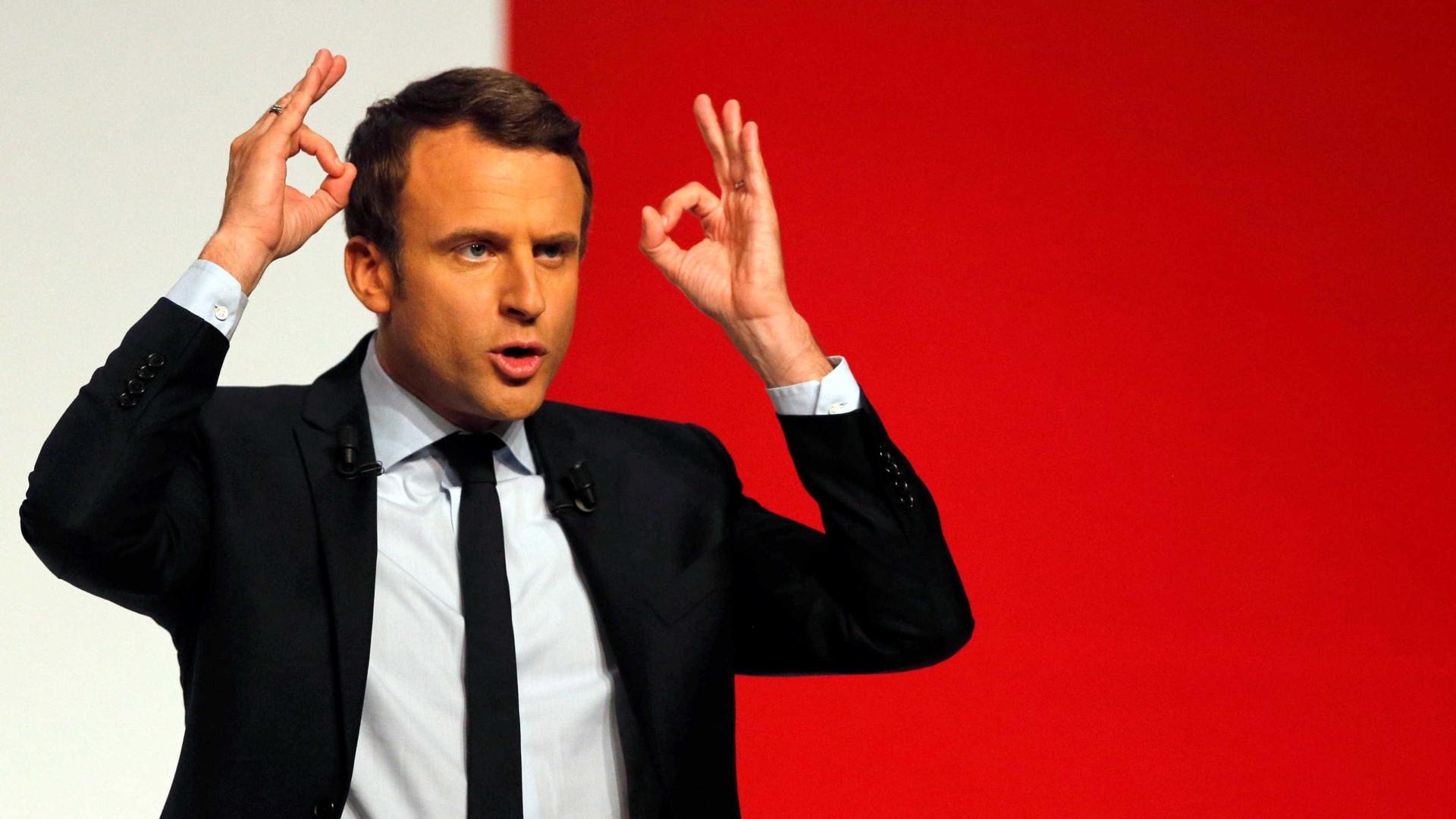 Campanha de Macron tem documentos  vazados no WikiLeaks