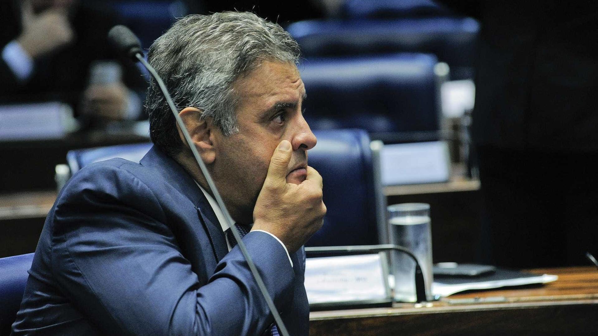 PF não pode surpreender Aécio  em depoimento, decide Supremo