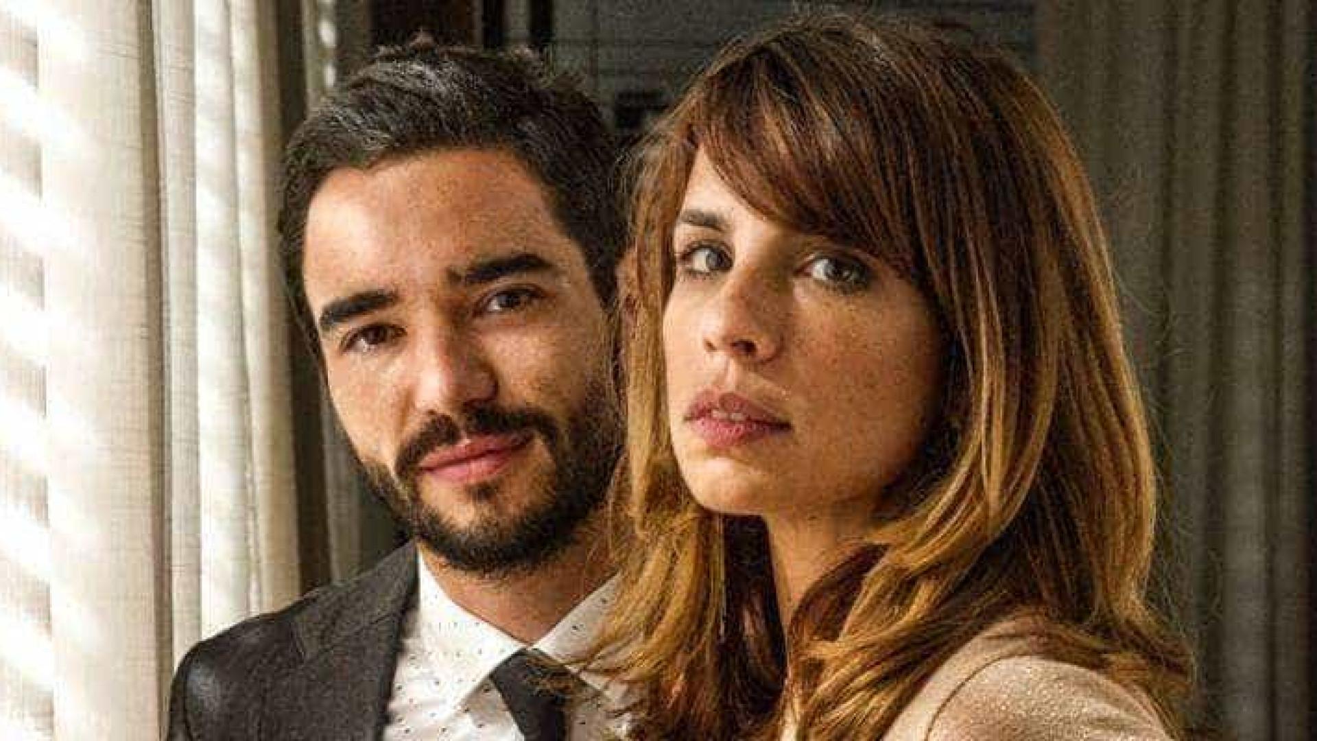 Após separação, Caio Blat e Maria Ribeiro vão juntos ao cinema