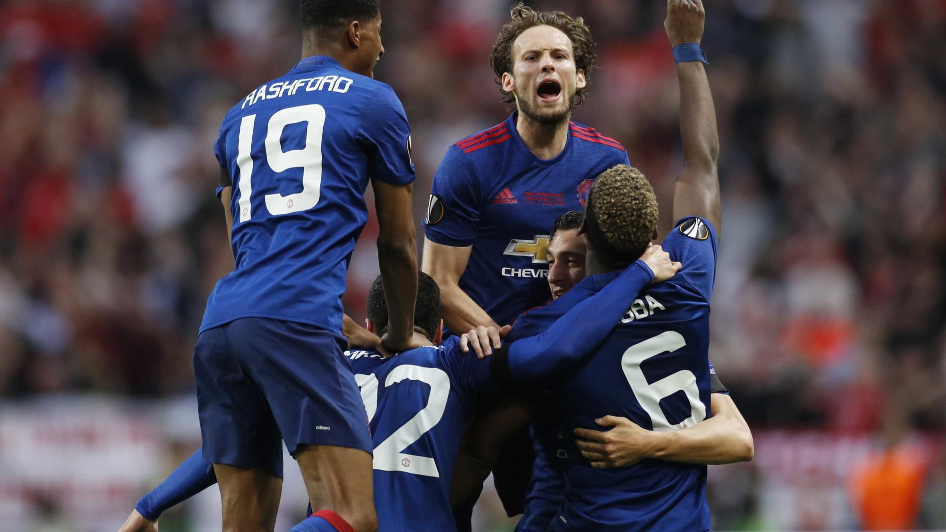 Manchester United vence o Ajax e é campeão da Liga Europa