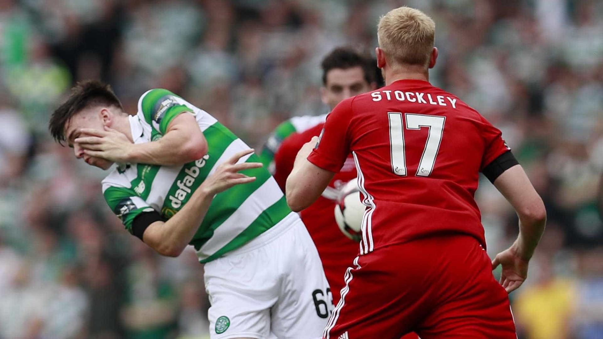 Jogador perde dois dentes em dividida na final da Copa da Escócia; veja