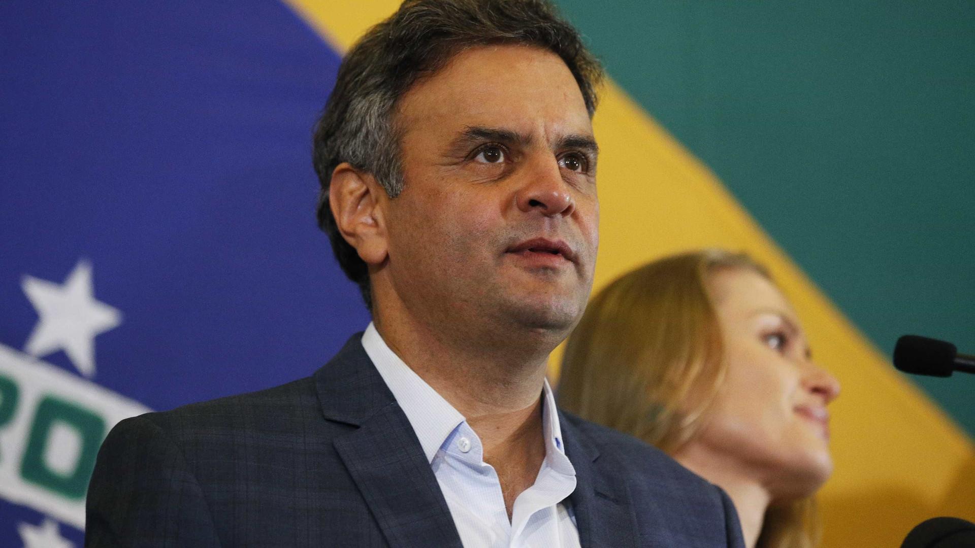PGR pede prisão do senador Aécio Neves