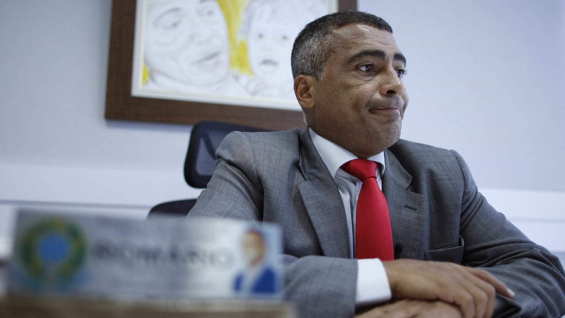 Romário sobre a CBF: 'Maior organização criminosa do país'