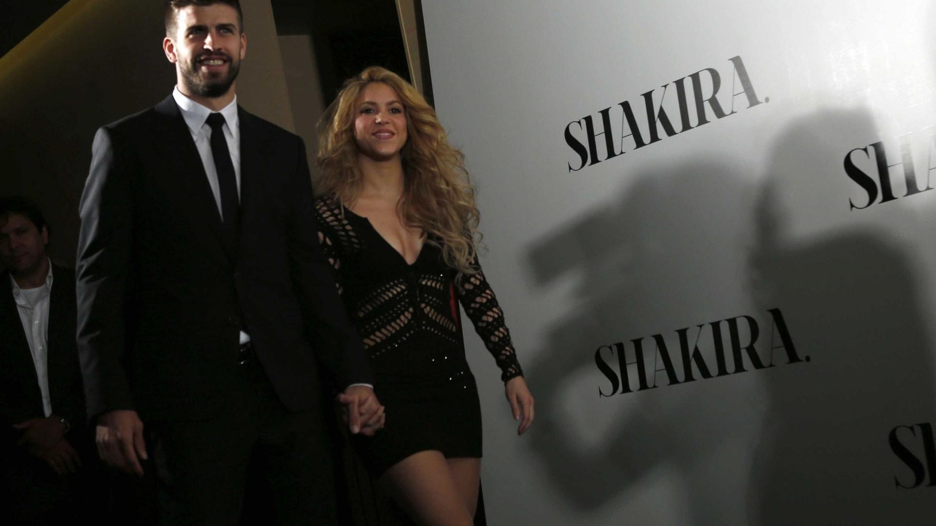 Gerard Piqué confirma casamento com Shakira