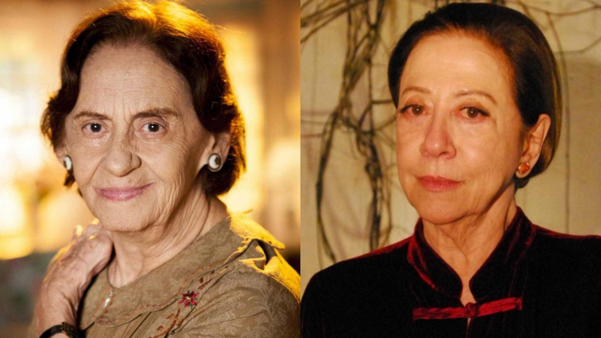 Fernanda Montenegro e Laura Cardoso atuarão juntas pela 1ª vez