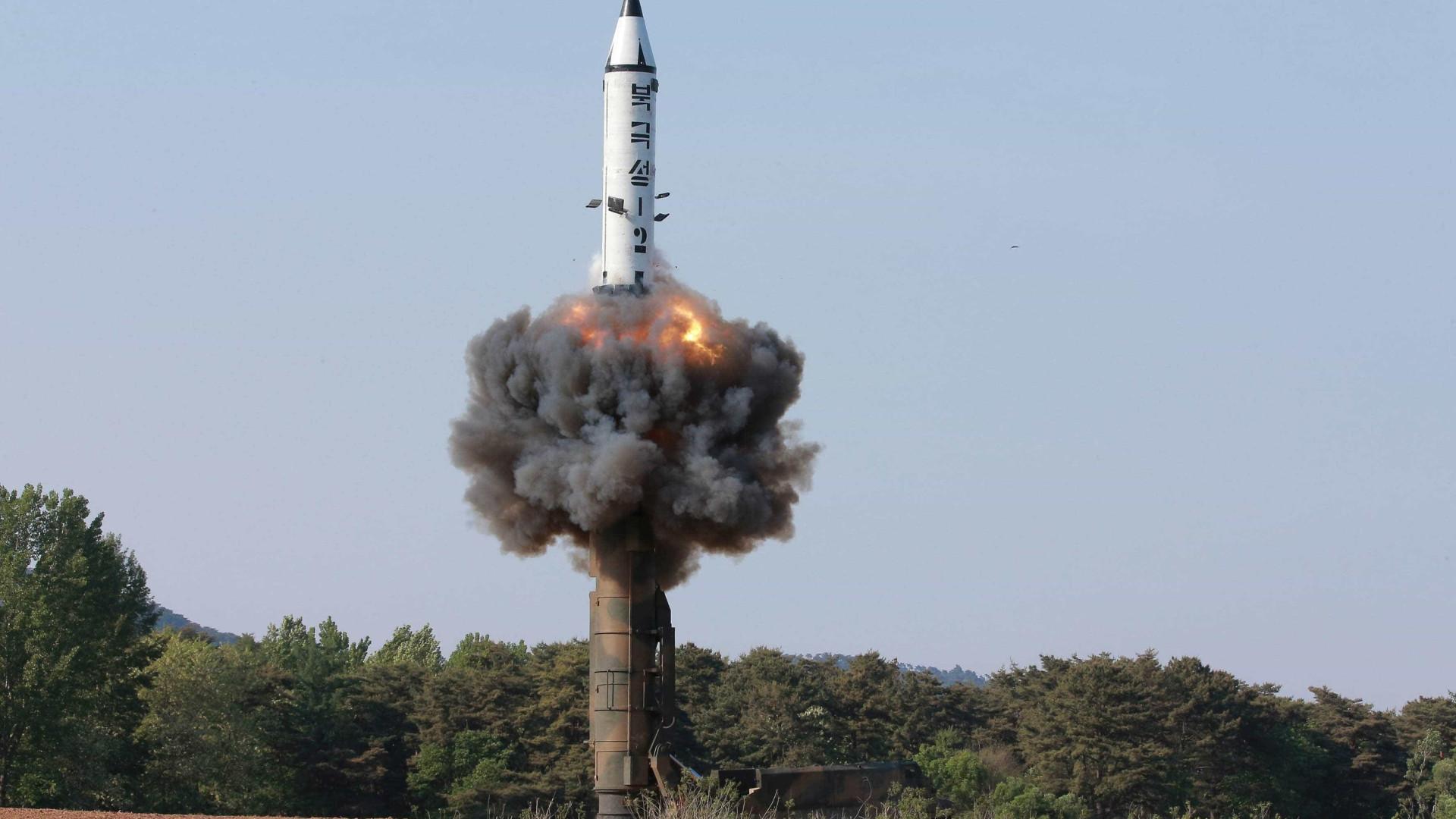 Coreia do Norte lança novo míssil