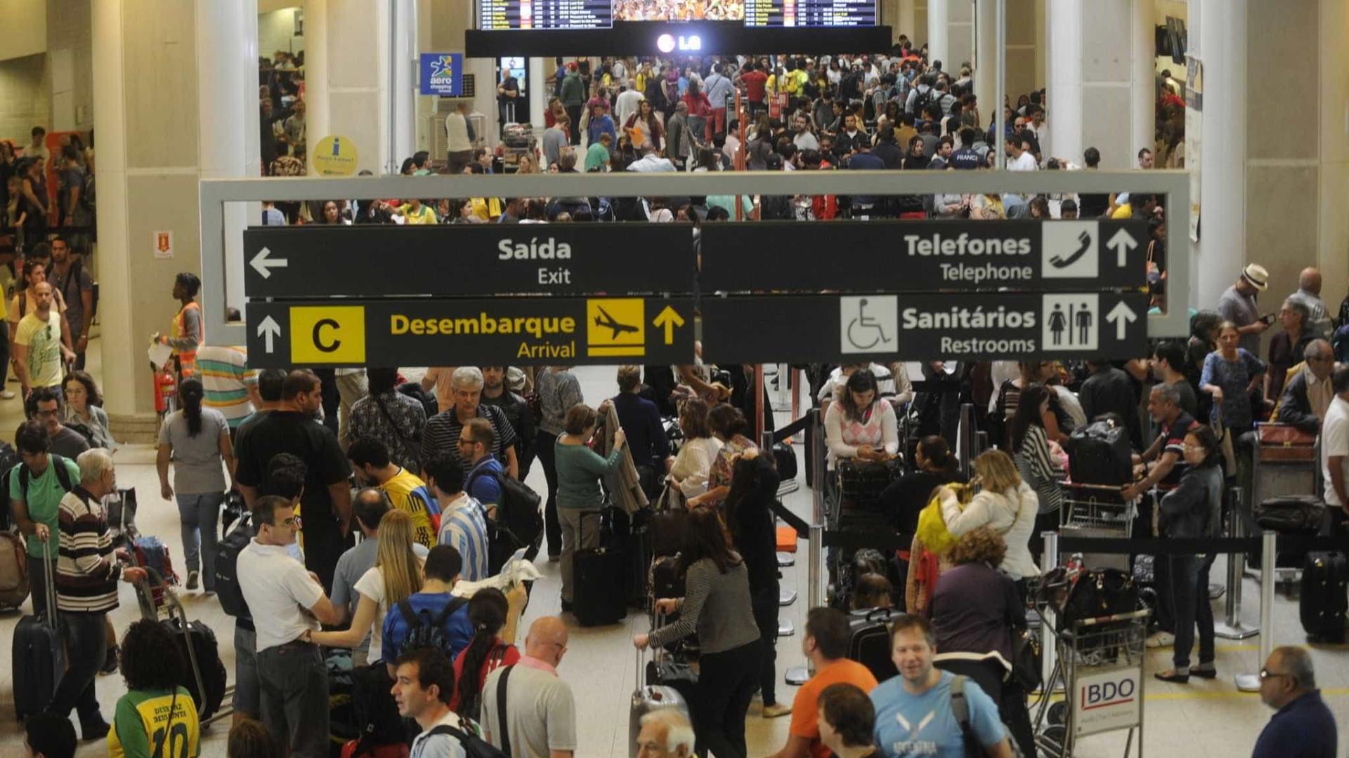 Movimento nos aeroportos cresce 1,46% em abril