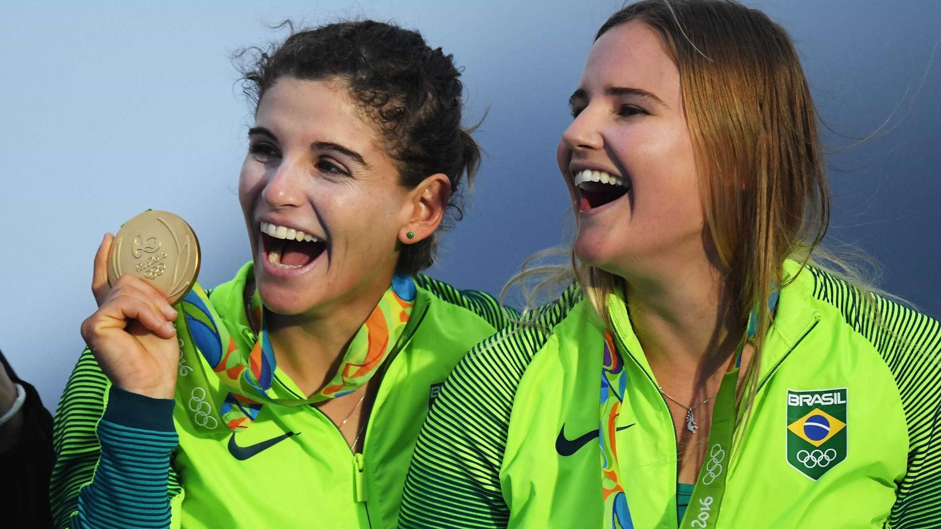 Legado? Ouro no Rio, velejadora diz que Baía de Guanabara 'piorou'