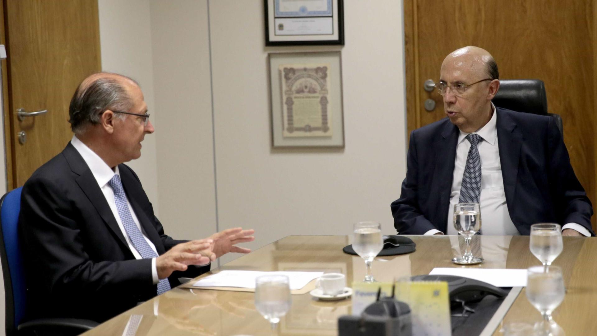 Alckmin e Meirelles podem se enfrentar  em disputa presidencial