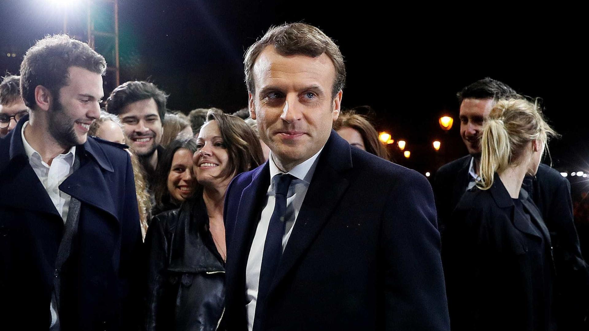 Rússia tentou espionar Emmanuel Macron através do Facebook