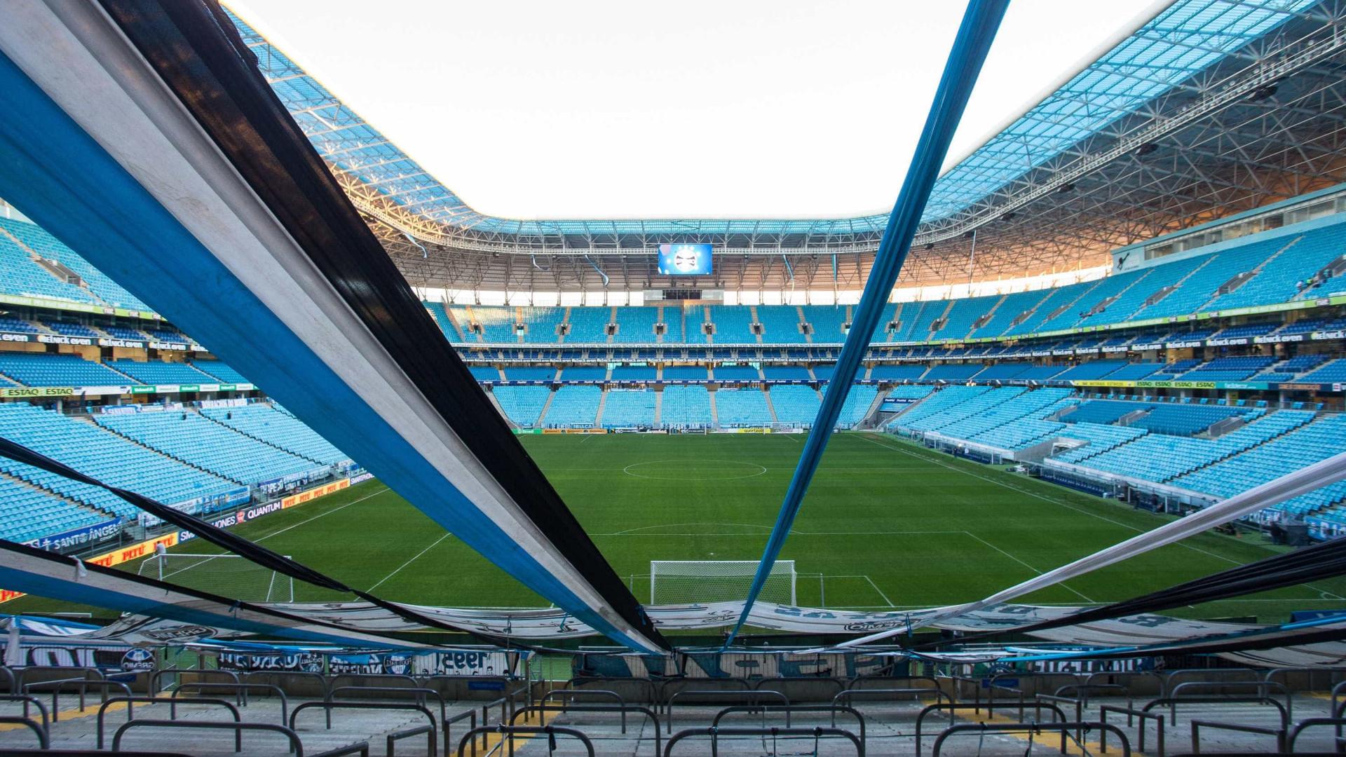 44b17bdb3 Qualidade do gramado da Arena Grêmio preocupa a seleção brasileira